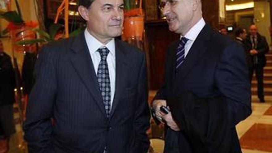 Artur Mas y Josep Antoni Duran, CiU