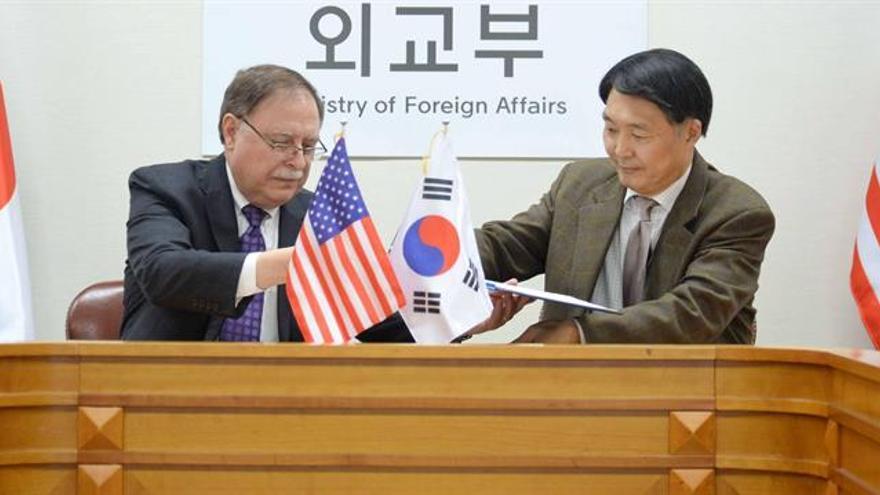Corea del Sur pagará un 8,2 % más por mantener a las tropas de EEUU en 2019