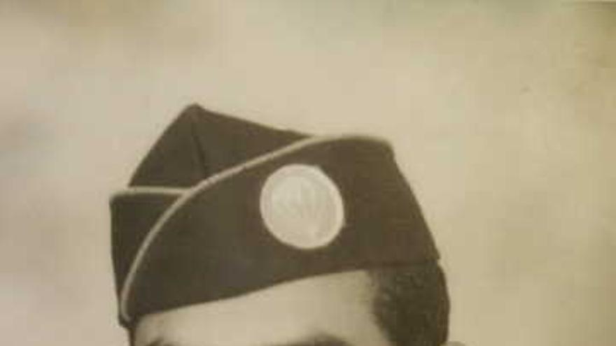 Frank Aguerrebere recibió 14 condecoraciones, incluida la Estrella de Bronce, durante la SGM. A su regreso a EEUU tuvo la oportunidad de participar en el Desfile de la Victoria de Nueva York (cortesía de la familia Aguerrebere).