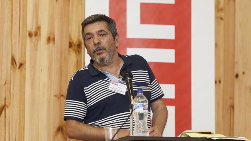 El actual secretario regional de Comisiones Obreras en Canarias, Carmelo Jorge