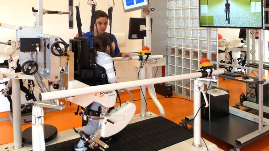 Robot Lokomat de la Fundación NIPACE