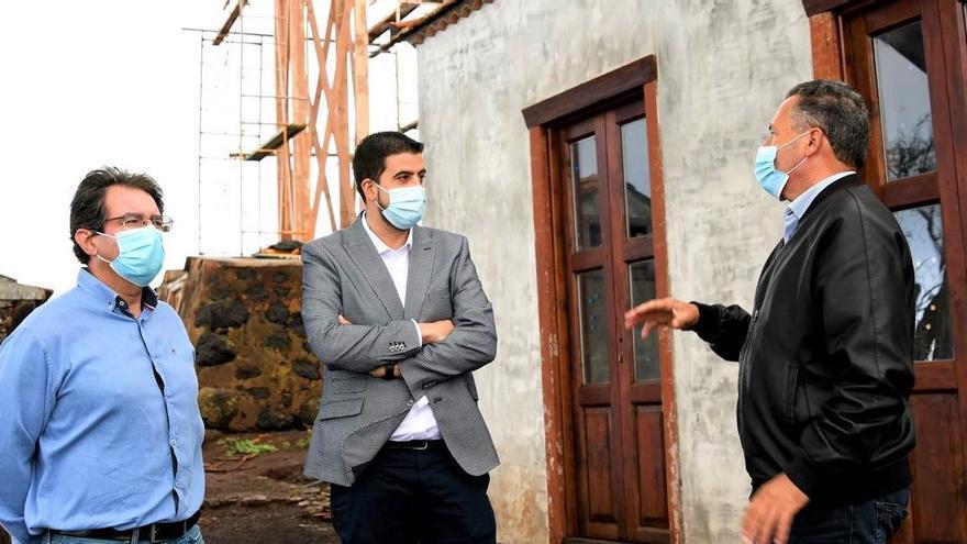 El Cabildo y el Ayuntamiento de Puntagorda trabajan juntos para impulsar el desarrollo del municipio