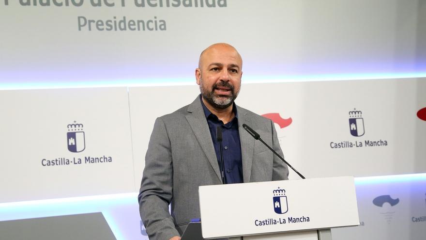 José García Molina, en rueda de prensa