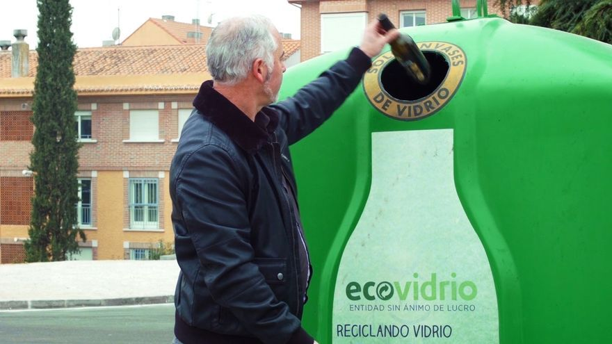El 70% de los hogares andaluces reciclan siempre los residuos de envases de vidrio, según un estudio de Ecovidrio
