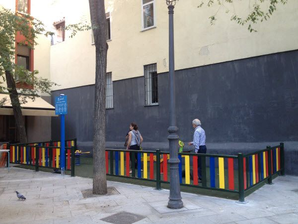 La nueva zona infantil de San Gregorio | Fotografía: Somos Chueca