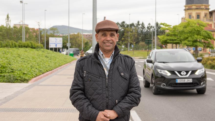 Ahmed Boufnan, perceptor de la Renta Garantizada.