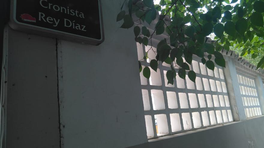 Calle Cronista Rey Díaz, una de las calles a las que el pleno de Córdoba ha aprobado cambiar el nombre