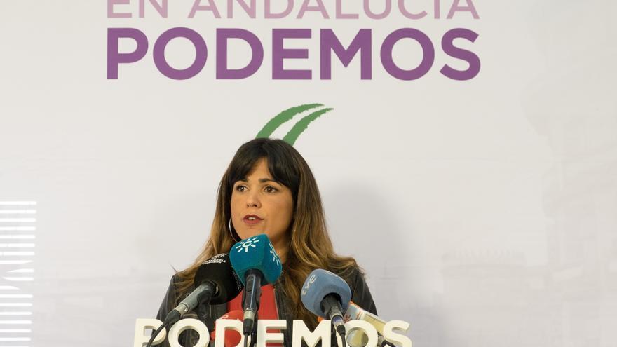 Teresa Rodríguez acude a Vistalegre II poniendo el foco en la autonomía de Andalucía, un mandato que cumplirá sí o sí