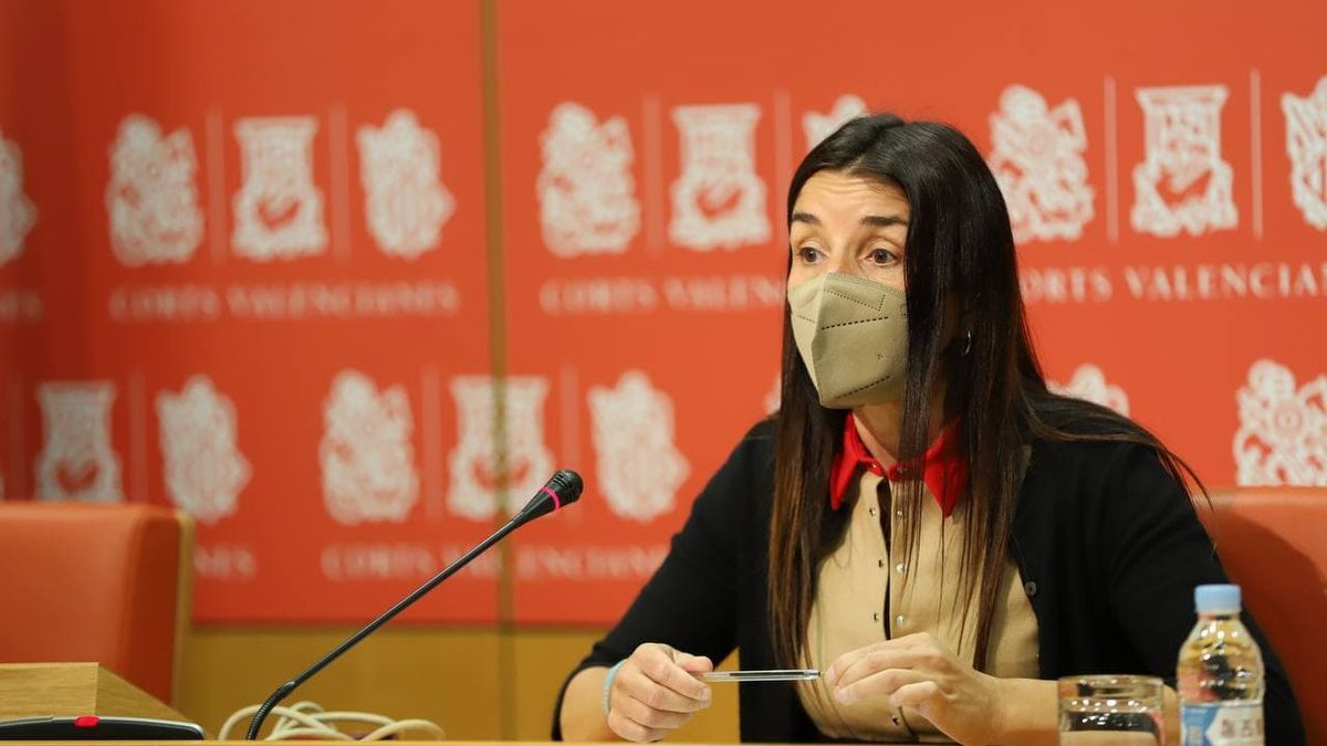 Ruth Merino, portavoz de Ciudadanos en las Corts Valencianes.