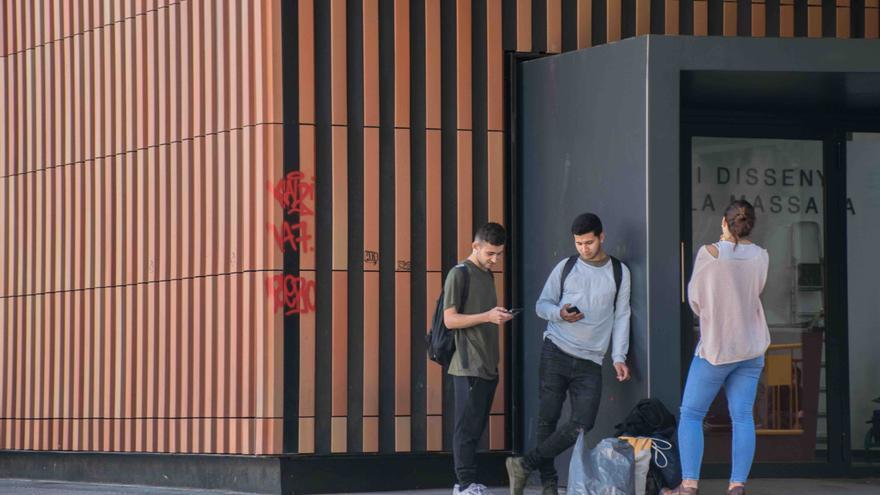 Fachada de la escuela de arte Massana de Barcelona