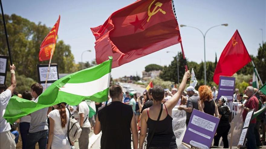 La Marcha a Rota cumple 30 años bajo el lema de 'Pan, trabajo y dignidad'