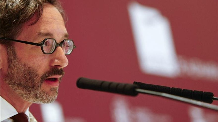 José María Lasalle, secretario de Estado de Cultura (EFE)