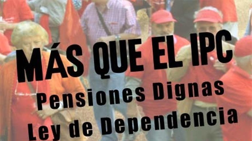 UGT-A y CCOO-A saldrán a la calle el próximo 1 de octubre para defender los derechos de los pensionistas andaluces