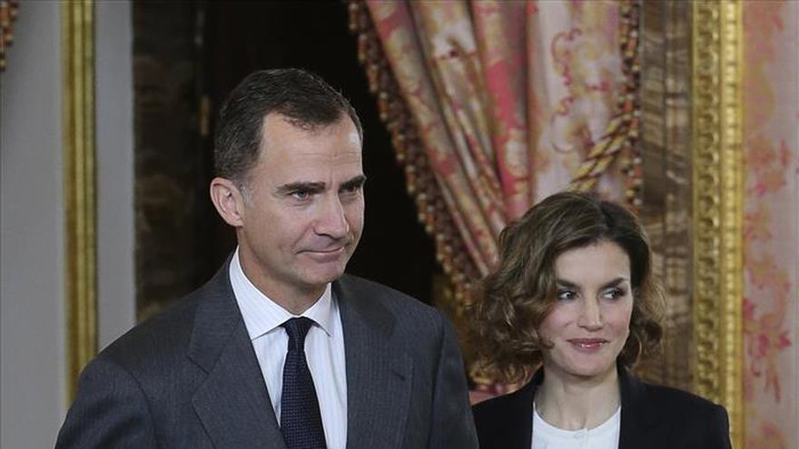 Los Reyes presiden la reunión de la Fundación Princesa Girona que aprueba el plan de 2016
