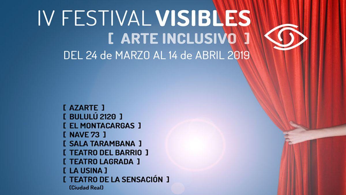 Cartel del IV Festival Visibles | FESTIVAL VISIBLES