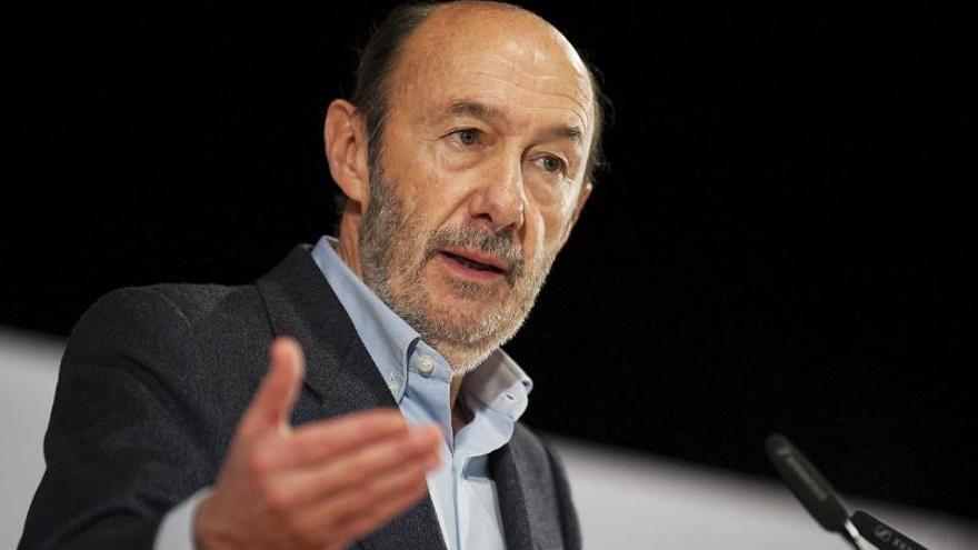 La muerte de Alfredo Pérez Rubalcaba paraliza la campaña electoral