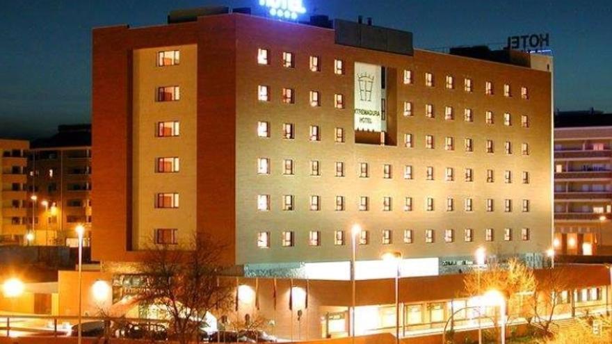 El Hotel Extremadura de Cáceres, uno de los alojamientos habilitados
