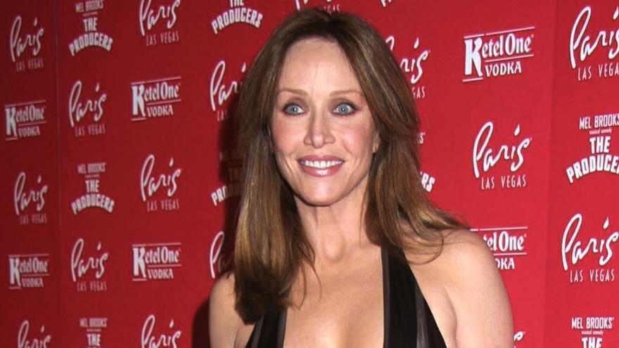 Tanya Roberts en una imagen de 2007