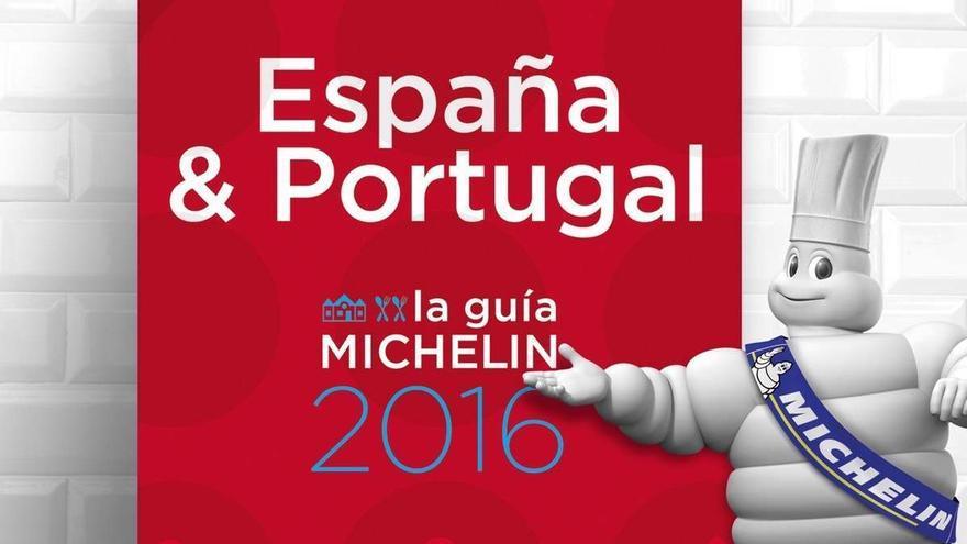 Imagen promocional de la Guía Michelín de 2016 para España y Portugal.