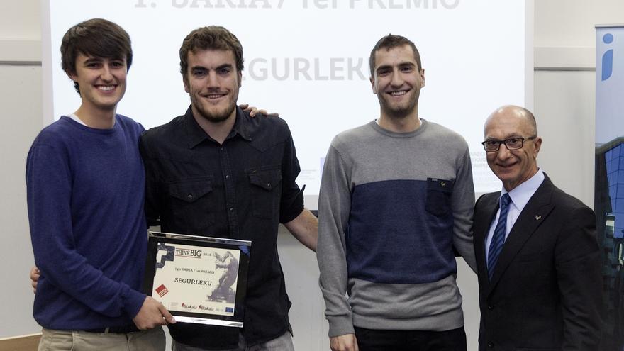 'Segurleku', 'Uhinak', 'Horsegenetik' y 'Mind The Drone', proyectos premiados en 'Think Big 2016'