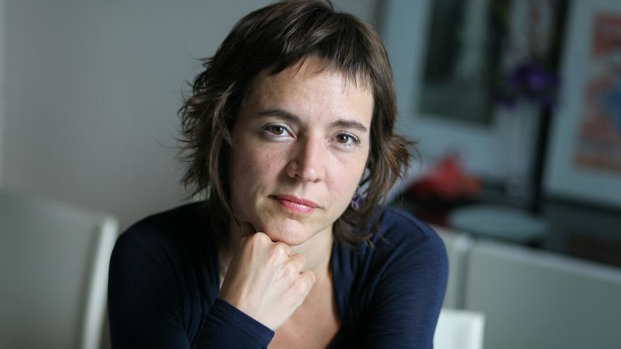 L'escriptora Núria Cadenes.
