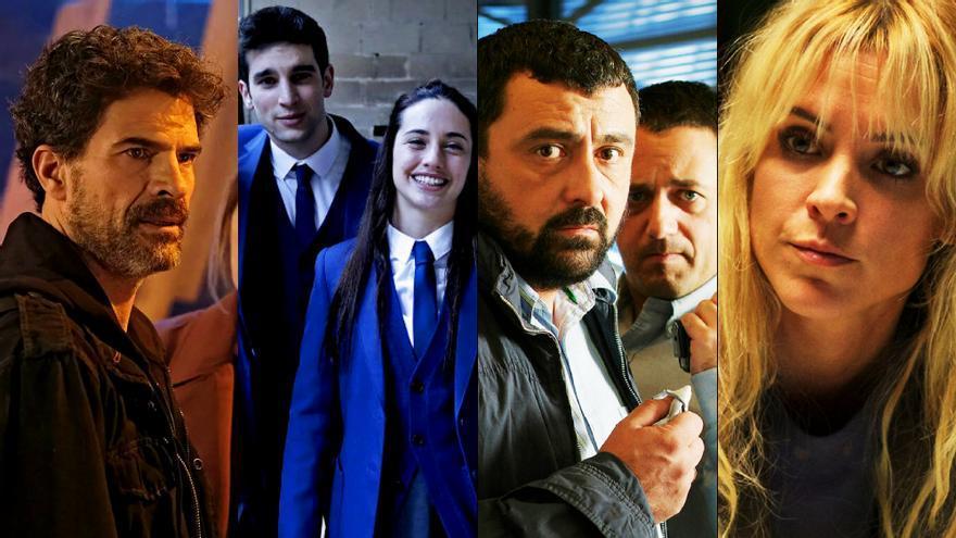 Fotogramas de 'El Ministerio', 'El Internado, 'Los Pacos', 'Vis a Vis' y más