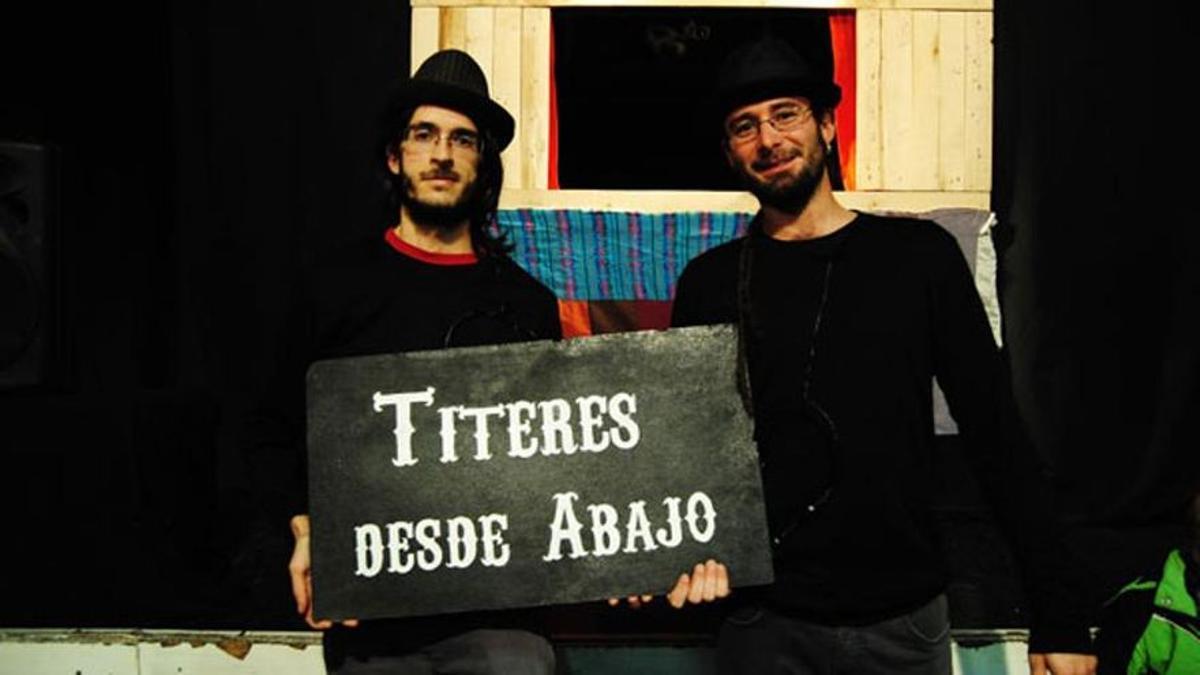 Los integrantes de Títeres desde Abajo, en una imagen de archivo.