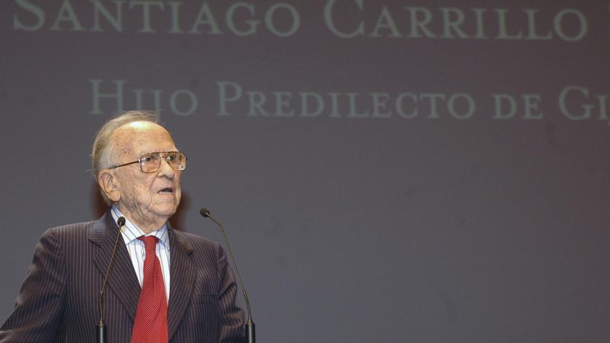 La capilla ardiente de Santiago Carrillo abrirá a las 10 en la sede de CCOO