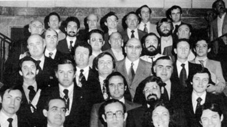Los miembros de la primera Diputación de Sevilla