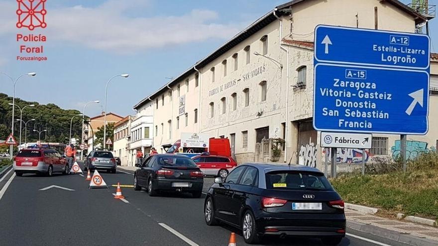 Policía Foral detiene a 6 personas por hurtos en el Casco Antiguo de Pamplona el tercer día de San Fermín