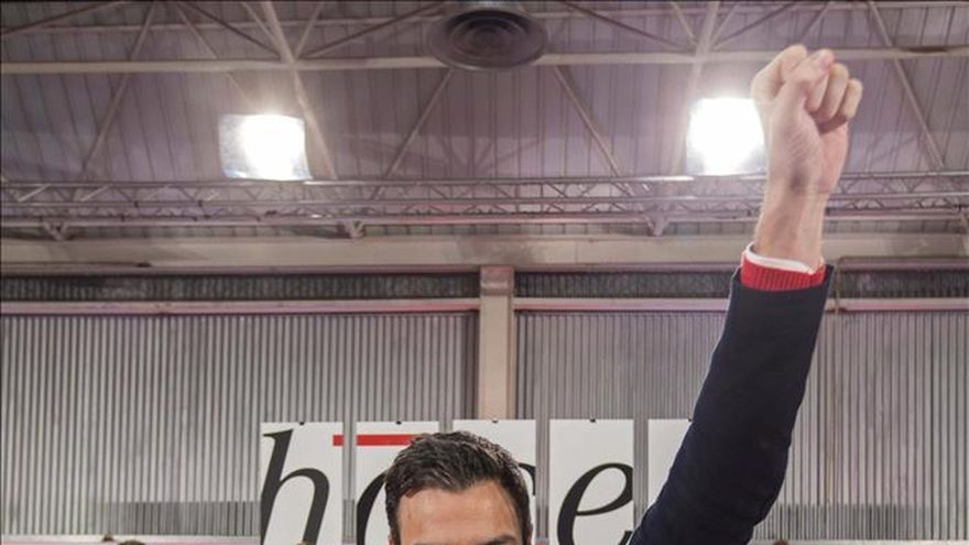 Pedro Sánchez: No me temblará la mano en echar a los corruptos del PSOE