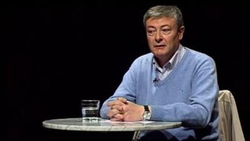 El nou director de la biblioteca, Enric Sòria