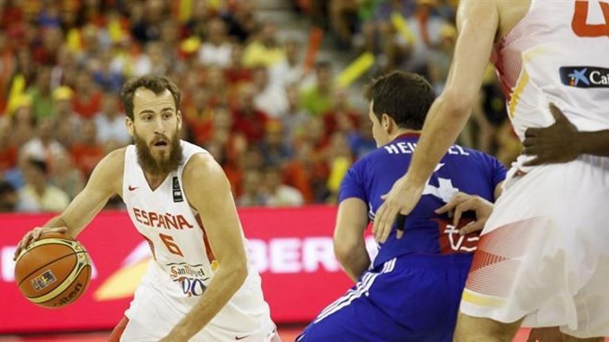 España planta cara a Francia y se hace con el primer puesto del grupo (EUROPA PRESS/ÁNGEL RIVAS).