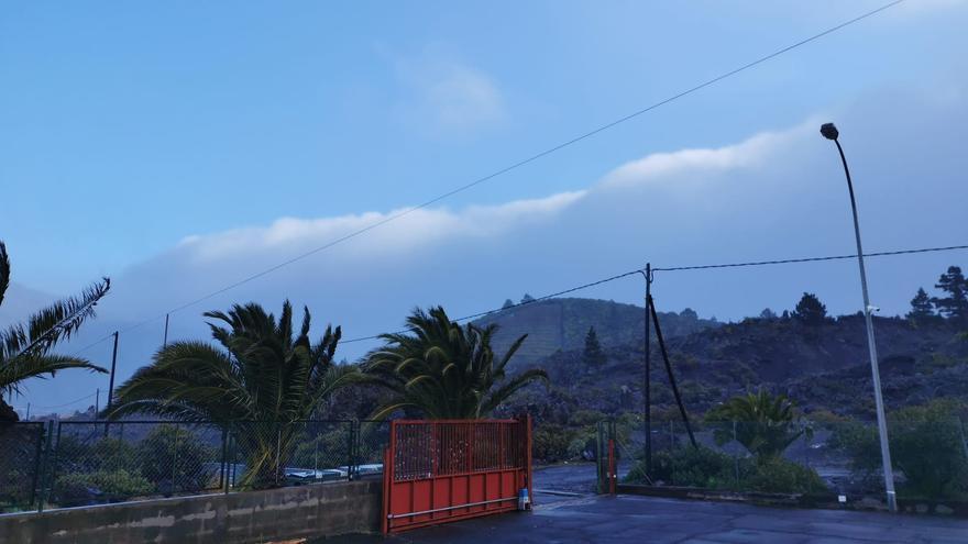 Lluvia abundante en el norte y este de La Palma y viento fuerte en la zona oeste