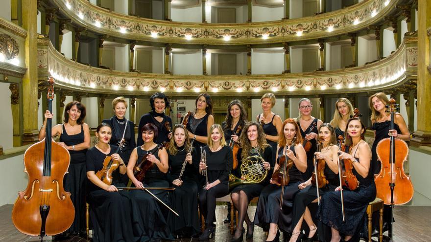 La orquesta Le Muse Italiane