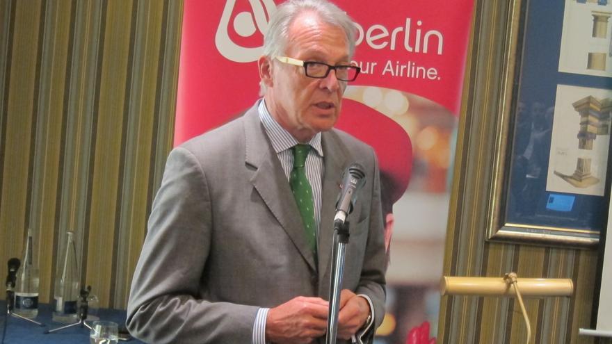Middelmann se jubilará en Air Berlin en 2013