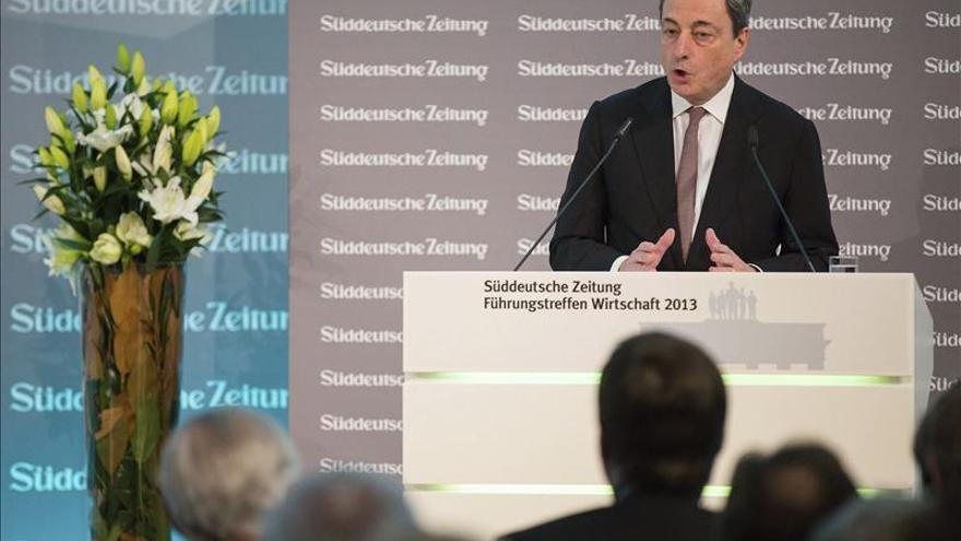 Draghi dice que el ejercicio de evaluación seguirá una metodología rigurosa