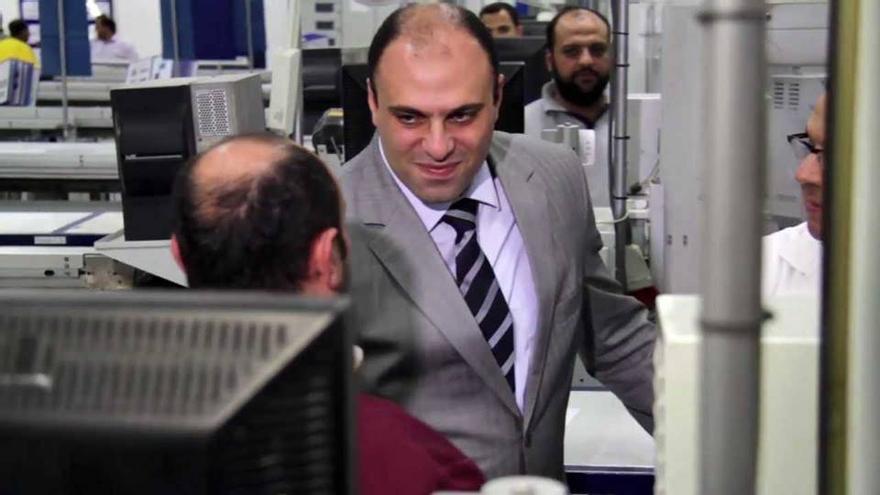 Yehia Hamed, ministro egipcio de Inversión con Morsi hasta el golpe de Estado de 2013, ahora exiliado en Turquía.