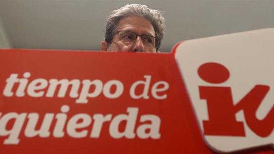 """IU dice que el """"a día de hoy no"""" del PSOE suena al """"OTAN de entrada no"""""""