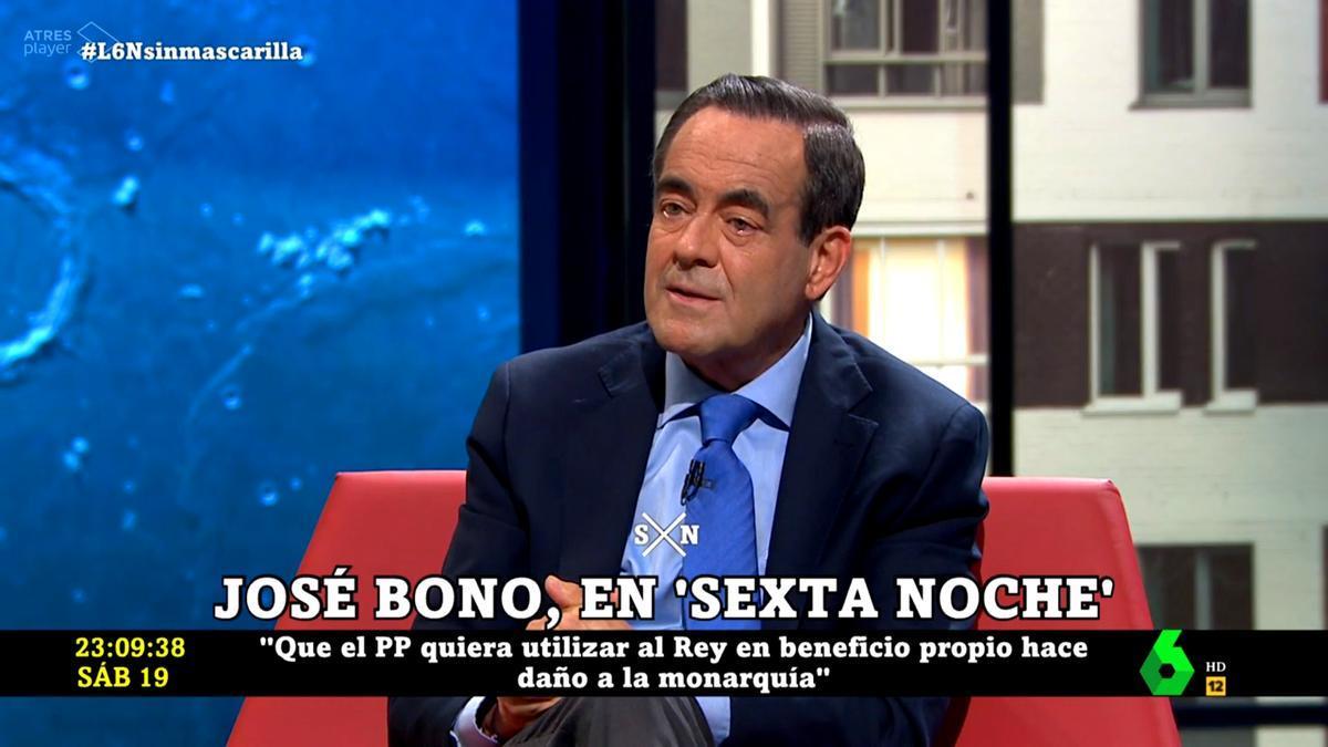 José Bono, en 'laSexta Noche'