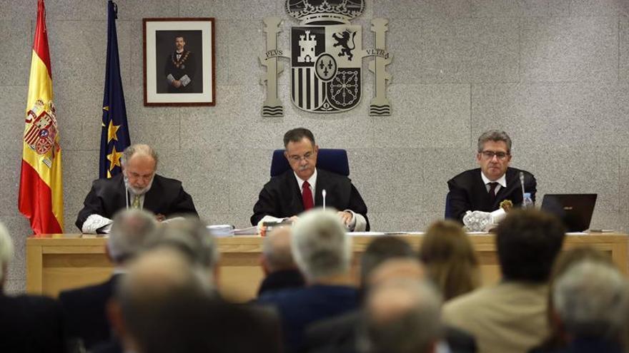 El tribunal que juzga el caso Gürtel.