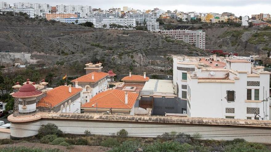 CIE de Barranco Seco, en Gran Canaria
