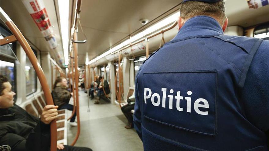 Concluye una operación antiterrorista en el sur de Bélgica