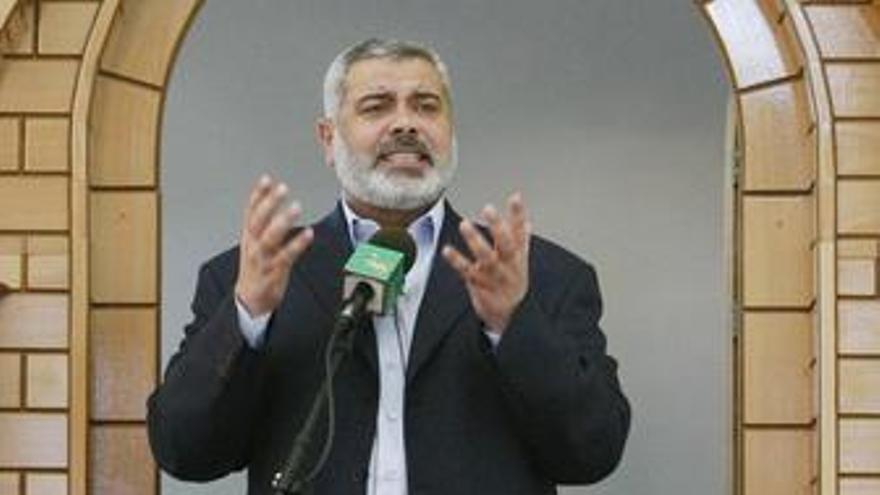 Líder del movimiento palestino Hamás, Ismail Haniyeh