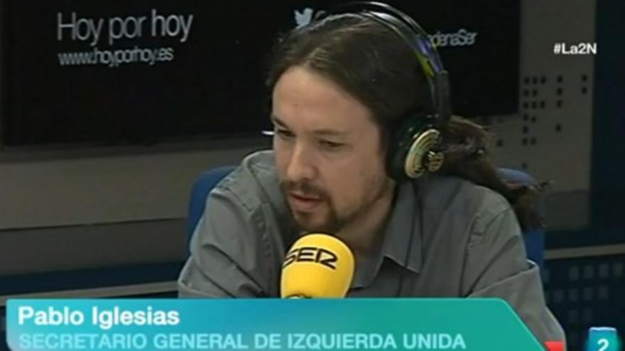 Pablo Iglesias - Izquierda Unida La 2