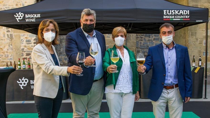 Presentación de la campaña de apoyo a las bebidas Basque Wine