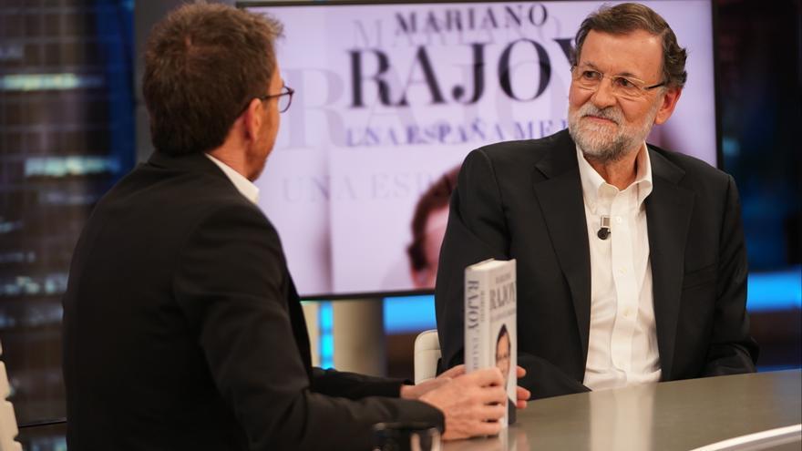 Mariano Rajoy presenta su libro en El Hormiguero de Antena 3.