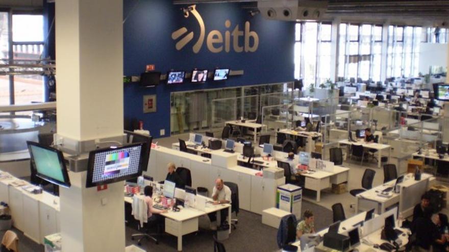 Redacción de EITB, en Bilbao.