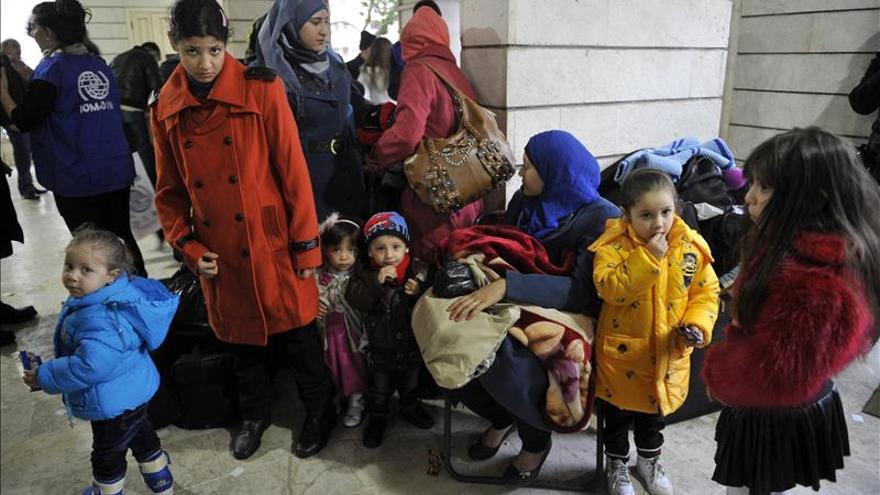 ACNUR pide 100.000 plazas de reasentamiento para refugiados sirios en 2015-16