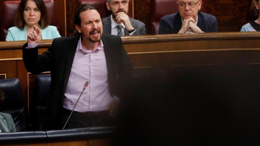 """Iglesias estalla contra el PP por """"descojonarse"""" al hablar de niñas prostituidas"""